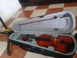 Violín Concertina y Atril Cleam