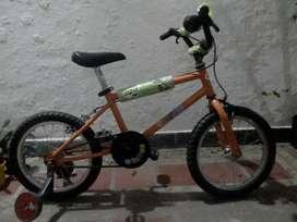Bicicleta rodado 16 impecable