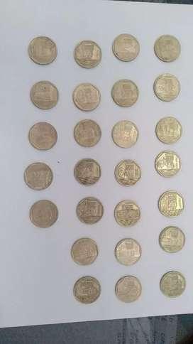 Monedas Riqueza y Orgullo Del Peru