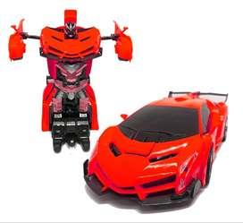 Carro Control Remoto Robot Transformer pago contra entrega