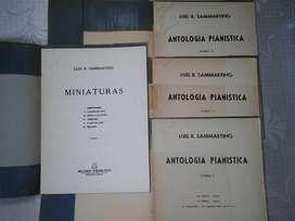 PARTITURAS: ANTOLIGIA PIANISTICA