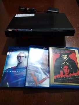 Blu-ray 3D LG con películas originales