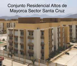 Arriendo de Apartamento Conjunto Residencial Altos de Mayorca Sector de Santa Cruz