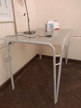 mesas/ escritorio de vidrio