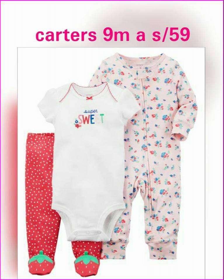 Conjuntos Carters en stock 0
