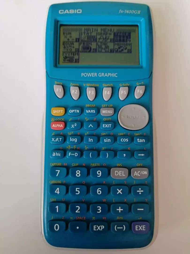Calculadora Casio fx-7400 G2 graficadora programable en la cava del libro tienda multiservicios multiproductos 0