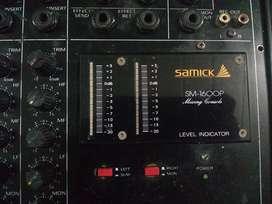 Vendo consola samick sm-1600p