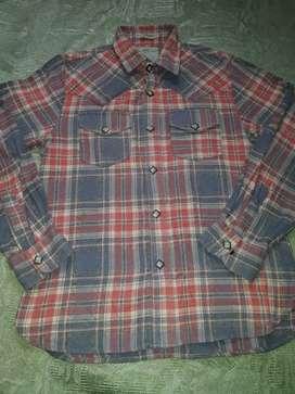Camisa leñadora talla 10 marca tennis