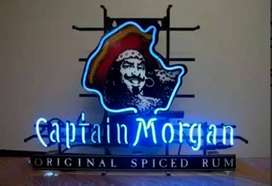 Neón Capitan Morgan  Ron Original Spiced