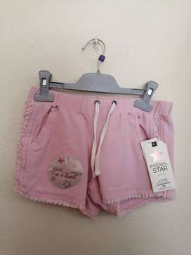Pantaloneta Para Niña Marca Imperial Star Americana