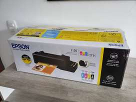 Impresora Epson L120 + Termofijadora + lote de serigrafia
