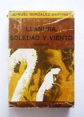 Manuel Gonzalez Martinez - Llanura Soledad y Viento - Firmado