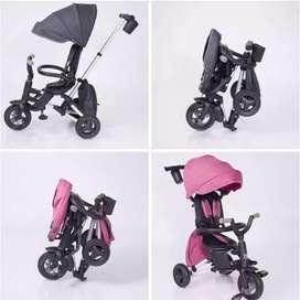 Triciclo portable plegable Nova ebaby para bebe niña niño