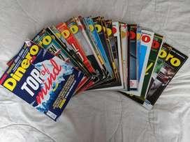 Revistas Dinero 493 a 516