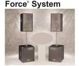 Sistema Completo Electro Voice Force + Potencia Ev Q44
