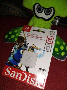 Micro SD Nintendo Switch 64GB