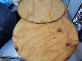 Tablas bandejas de madera pizza