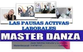 pausas activas y danzas empresariales cali