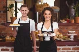 Presto servicios como mesera en restaurantes, hotel o eventos.