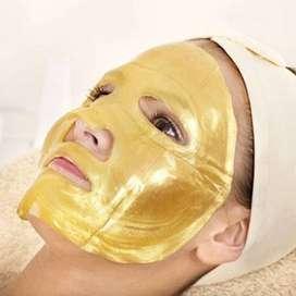 facial oro bio colágeno + pulpo limpiador facial