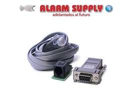 CABLE PARA PROGRAMAR CENTRAL DE ALARMA SCW PC LINK