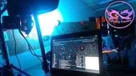 Organización de fiestas animación dj y luces alquiler