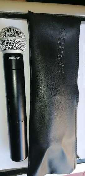 Microfono profesional marca shure