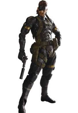 Square Enix metal gear  Play Arts Kai