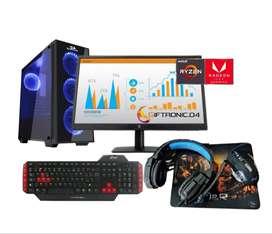 Pc Gamer Ryzen 3 3200g 8gb /240 Ssd M.2/monitor 22 Full Hd