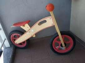 Bicicleta sin pedales Motocleta