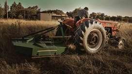 Servicio de desmalezado y corte de paso a tractor