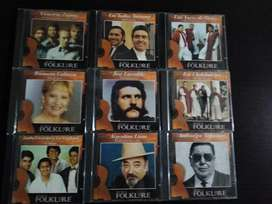 Vendo cd de folclore ORIGINALES