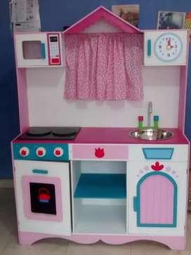 Cocina para niñas en MDF de 9mm