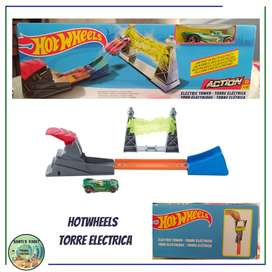 HOTWHEELS  TORRE ELECTRICA / ELECTRIC TOWER