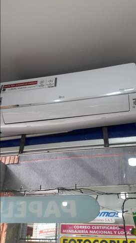 AIRE ACONDICIONADO LG INVERTER 12.000 BTU ELECTRICIDAD 220V