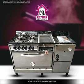 Equipamiento-cocinas industriales, refrigeración comercial.