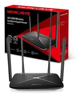 Rouster Mercusys AC1200 wireless dual band gigabit router
