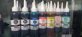 Tinta para impresoras EPSON, HP, CANON y BROTHER