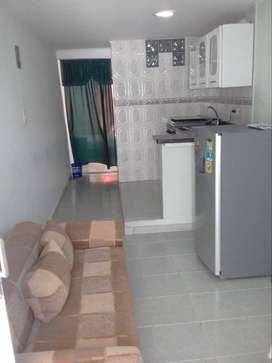 Apartaestudio amoblado por dia/semana/mes en Cartagena