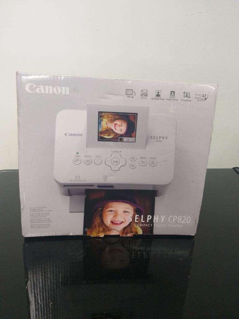 Impresora Canon Selphy Cp820 0