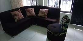 Sala en L muebles