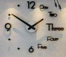 Reloj De Pared 3D, tamaño grande 120 x 120 c.m