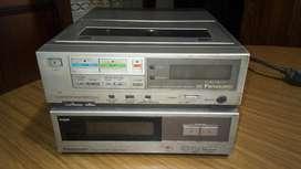 Videocasetera Sintonizador Vhs Panasonic