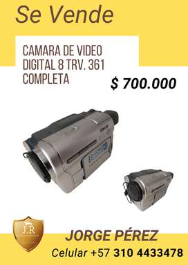 CAMARA DE VIDEO DIGTAL 8 TRV. 361 - COMPLETA