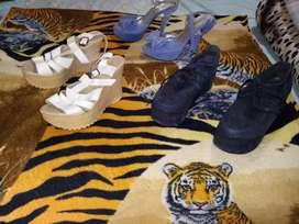Vendo Zapatos De Mujer Los 3 Par A $1.200