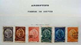 Sellos postales de Argentina 1901