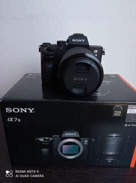 Camara Sony alfa 7 lll lente 28-70