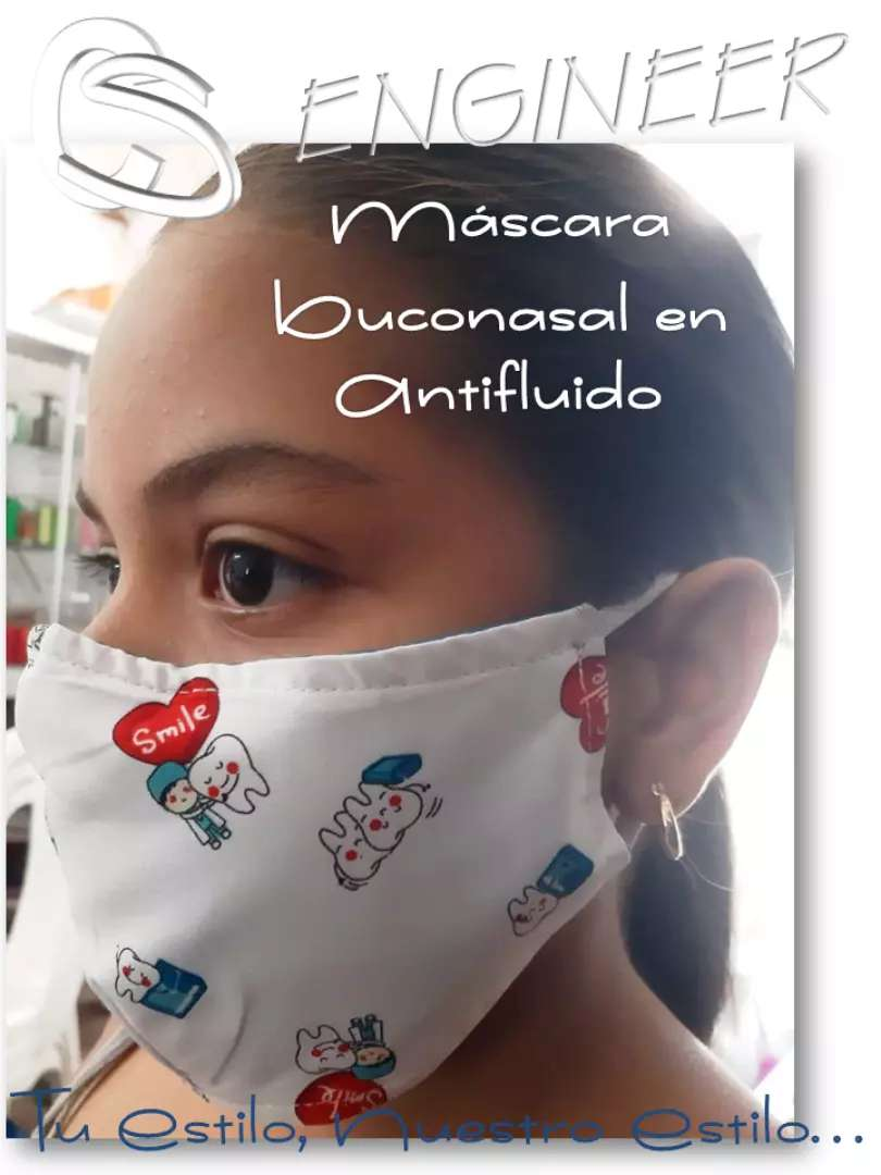 Protector de boca y nariz