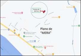 Terreno de 1047m2 en MERA
