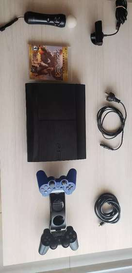 VENDO PLAY 3 + MOVE + JUEGOS $9500